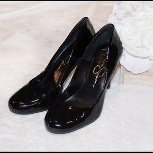 5680ac7896bd ... 3  25 Jessica Simpson Patent leather heels ...